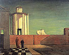 The- Enigma of the Arrival and the Afternoon c1911 - Giorgio de Chirico