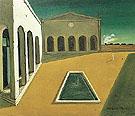 The Delights of the Poet 1912 - Giorgio de Chirico