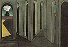 The Anxious Journey 1913 - Giorgio de Chirico