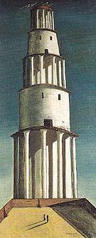 The Great Tower 1913 - Giorgio de Chirico