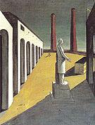 The Enigma of a Day I 1914 - Giorgio de Chirico