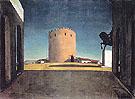The Red Tower 1913 - Giorgio de Chirico