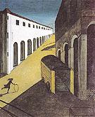 The Mystery and Melancholy of a Street 1914 - Giorgio de Chirico