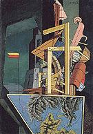 The Melancholy of Departure 1916 - Giorgio de Chirico