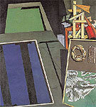 Evangelical Still Life I 1916 - Giorgio de Chirico