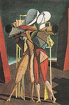 Hector and Andromache 1917 - Giorgio de Chirico