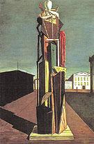 The Great Metaphysician 1917 - Giorgio de Chirico