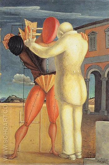 The Prodigal Son 1922 - Giorgio de Chirico reproduction oil painting