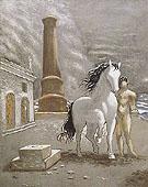 On the Shores of Thessaly 1926 - Giorgio de Chirico