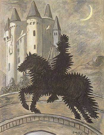 Return to the Castle 1969 - Giorgio de Chirico reproduction oil painting