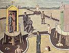 The Mysterious Baths c1934 - Giorgio de Chirico