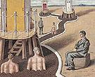 The Mysterious Baths II c1936 - Giorgio de Chirico