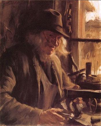 Boslanders - Anders Zorn reproduction oil painting