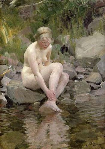 Dagmar - Anders Zorn reproduction oil painting