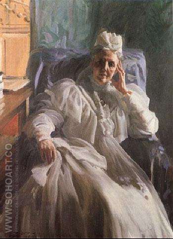 Drottning Sophia Queen Sophia 1909 - Anders Zorn reproduction oil painting