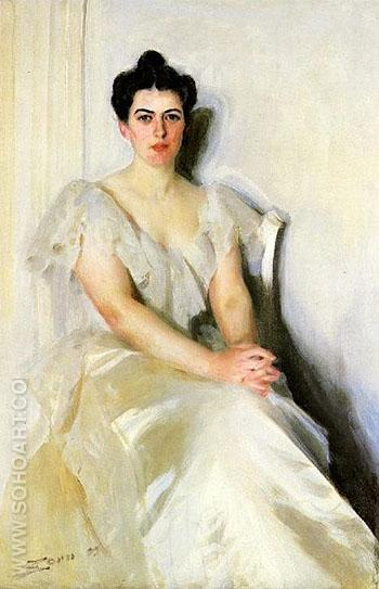 Frances Cleveland 1899 - Anders Zorn reproduction oil painting