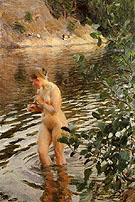 Frileuse 1894 - Anders Zorn reproduction oil painting