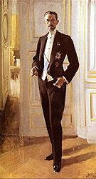 Gustav V - Anders Zorn reproduction oil painting