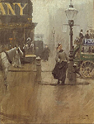 Impressions de Londres Impressions of London - Anders Zorn reproduction oil painting