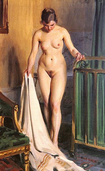 I Sangkammaren - Anders Zorn reproduction oil painting