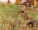 Mora Marknad The Mora Fair 1892 - Anders Zorn reproduction oil painting
