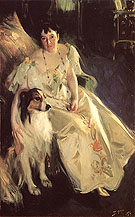 Mrs Bacon 1897 - Anders Zorn reproduction oil painting