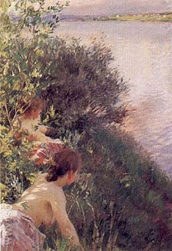 Opal - Anders Zorn reproduction oil painting