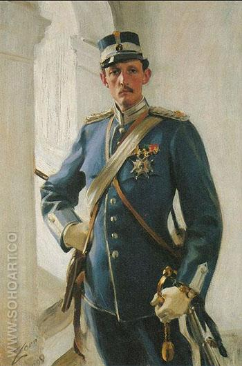 Prins Carl - Anders Zorn reproduction oil painting