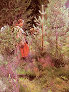 Vallkulla 1908 - Anders Zorn reproduction oil painting