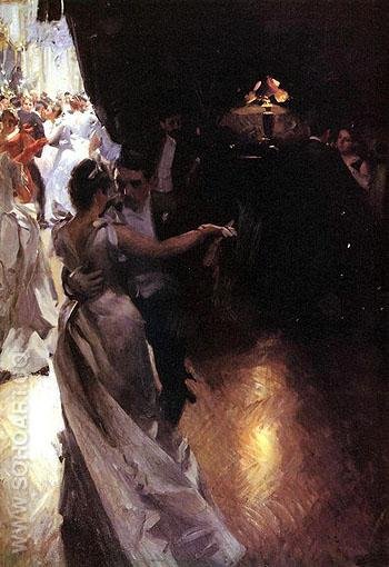 Valser - Anders Zorn reproduction oil painting