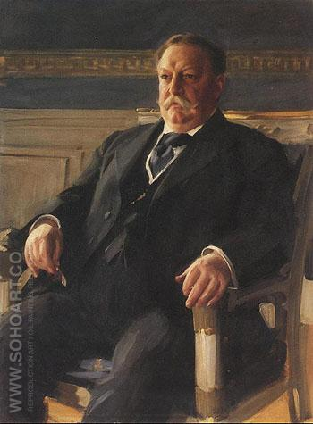 William Howard Taft 1911 - Anders Zorn reproduction oil painting