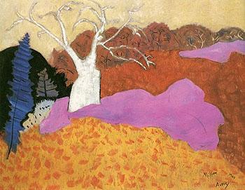 Autumn 1944 - Milton Avery reproduction oil painting