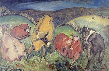 Bucolic Landscape 1930 - Milton Avery reproduction oil painting