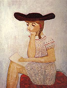 The Brown Hat 1941 - Milton Avery