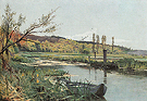 Landscape near Geneva 1890 - Ferdinand Hodler reproduction oil painting