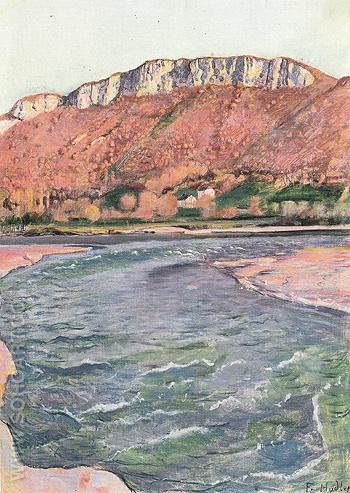 Saleve in Fall 1891 - Ferdinand Hodler reproduction oil painting