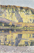 Outing on the Rhone 1891 - Ferdinand Hodler reproduction oil painting
