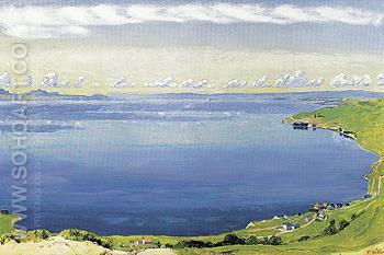 Lake Geneva from Chexbres 1904 - Ferdinand Hodler reproduction oil painting