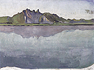 Lake Thun with Stockhorn Range 1910 - Ferdinand Hodler
