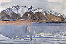 Lake Thun with Stockhorn Range 1913 - Ferdinand Hodler