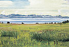 Lake Geneva from St Prex 1901 - Ferdinand Hodler reproduction oil painting