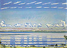 Rhythmic Landscape on Lake Geneva 1908 - Ferdinand Hodler