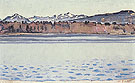 Lake Geneva with Mont Blanc in the Afternoon 1918 - Ferdinand Hodler