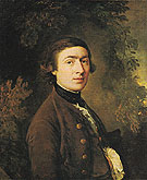 Self Portrait c1759 - Thomas Gainsborough reproduction oil painting