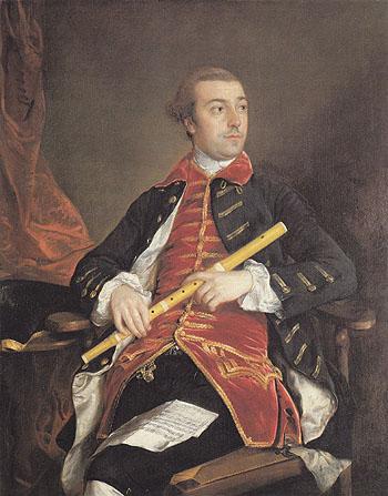 William Wollaston c1758 - Thomas Gainsborough reproduction oil painting