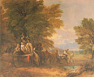 The Harvest Waggon 1767 - Thomas Gainsborough reproduction oil painting