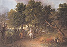 Peasants Returning from Market c1767 - Thomas Gainsborough reproduction oil painting