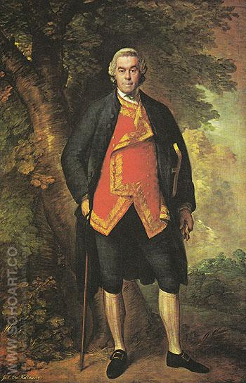 John Viscount Kilmorey c1768 - Thomas Gainsborough reproduction oil painting