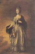 Isabella Viscountess Molyneux 1769 - Thomas Gainsborough reproduction oil painting