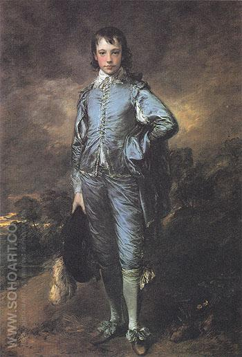 The Blue Boy c1770 - Thomas Gainsborough reproduction oil painting
